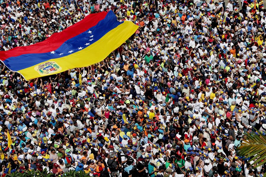 Марш против Мадуро в Каракасе, 2.02.19.png