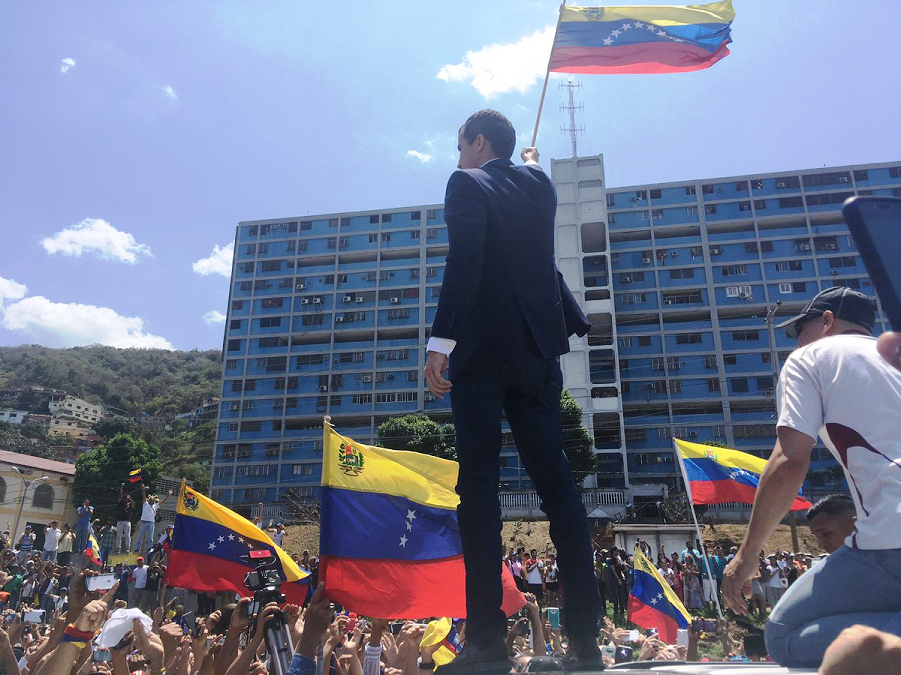 Гуайдо на митинге в Каракасе, 4.03.19.png