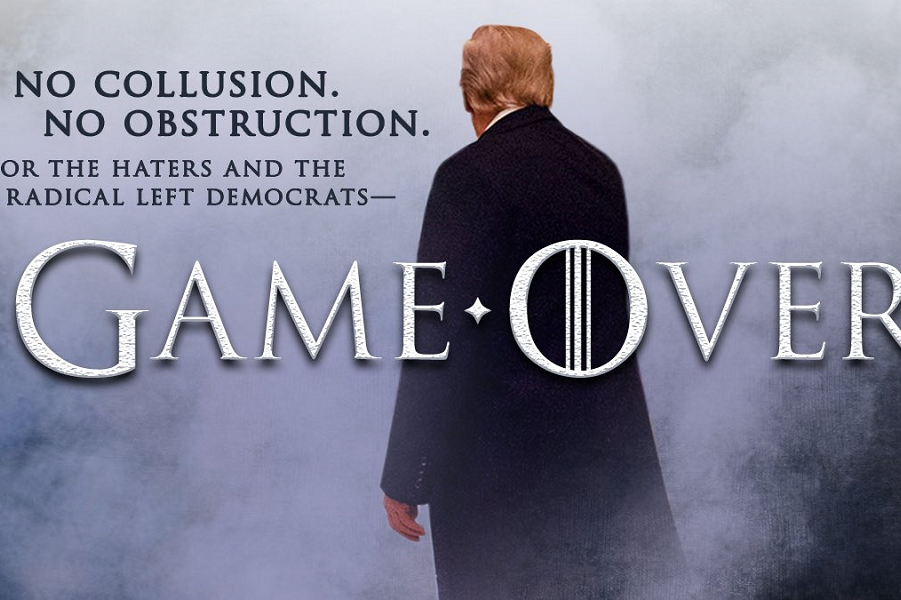 Трамп, Игра окончена.png