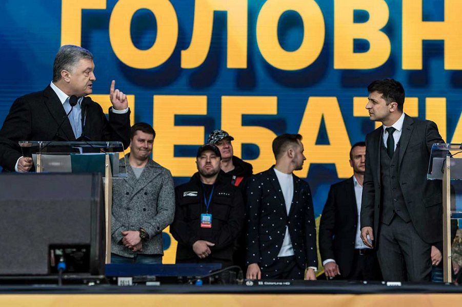 Порошенко и Зеленский на дебатах, 19.04.19.png