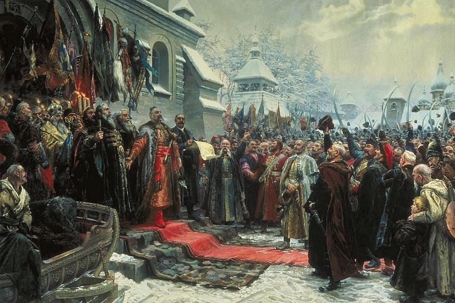 Навеки с Москвой, навеки с русским народом, М. Хмелько, 1951.png