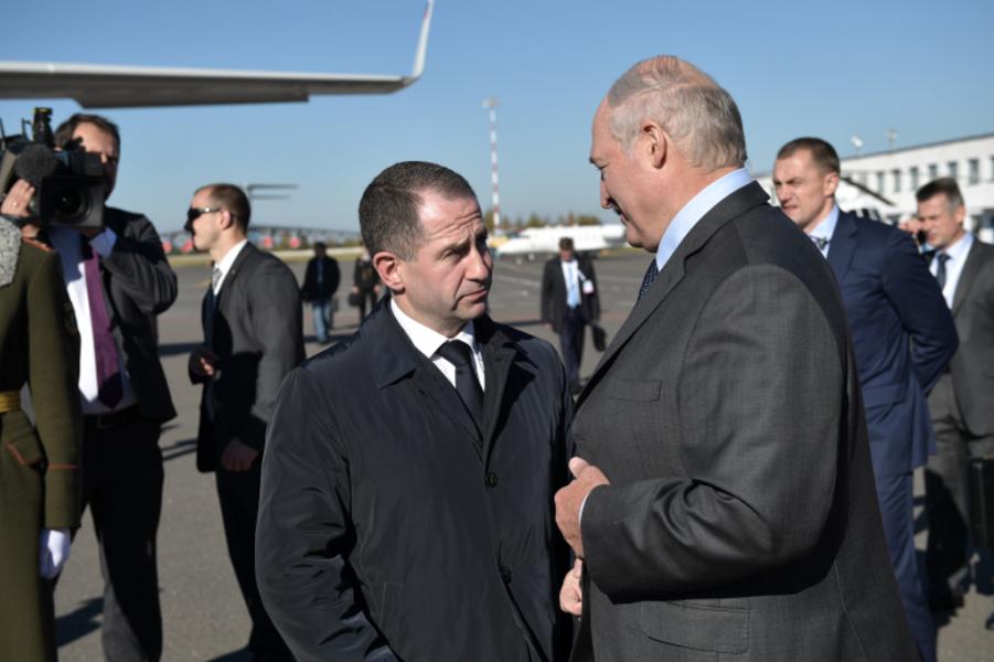 Посол РФ Михаил Бабич и президент Лукашенко.png