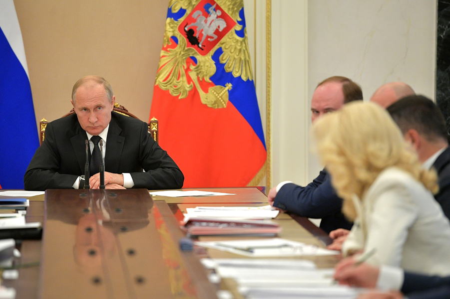 Совещание с членами правительства, Путин, Голикова, Вайно, 4.06.19.png