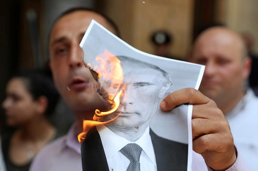 Антироссийские акции в Грузии, июль 2019.png