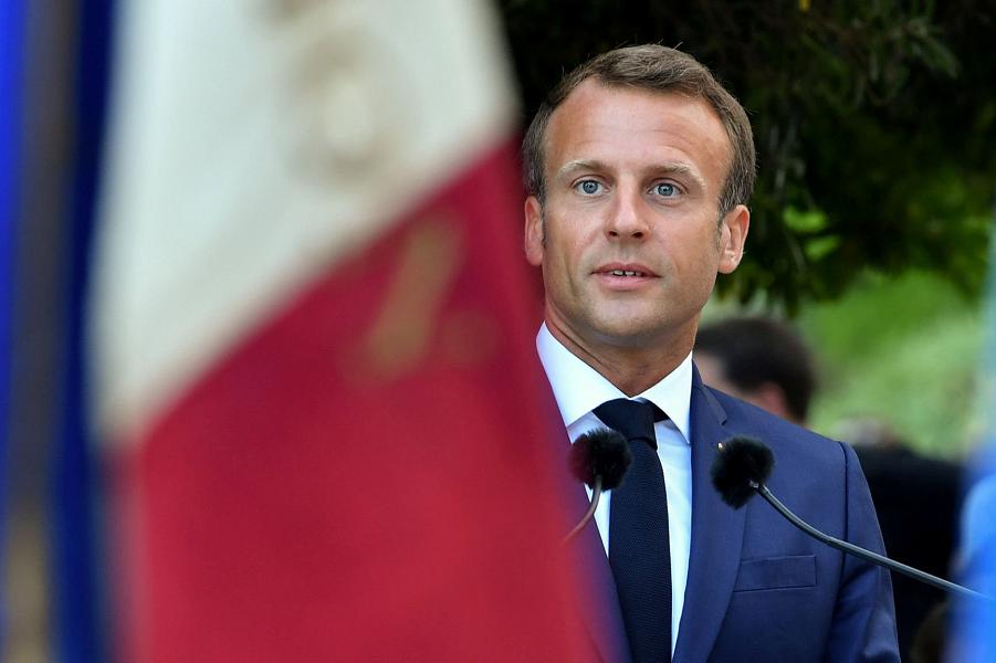 Президент Франции Эммануэль Макрон.png
