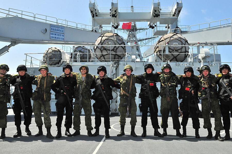 Российско-китайские военные учения, 2018.png