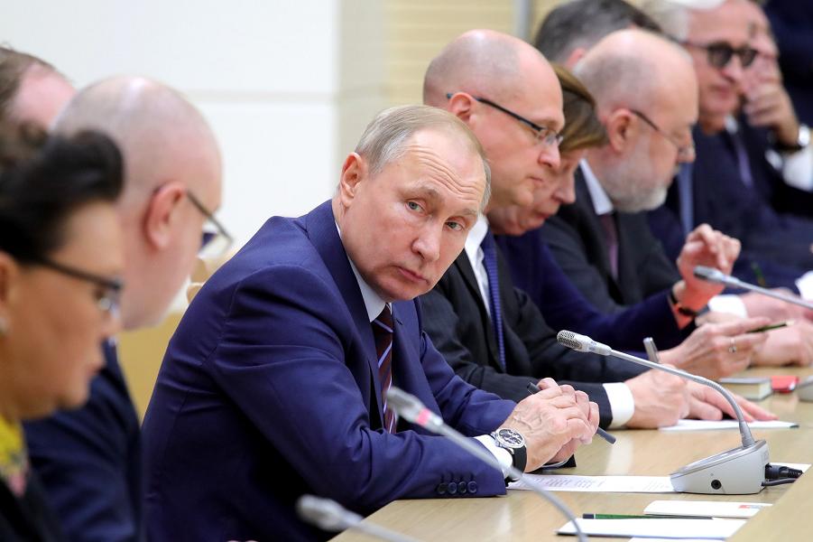 Встреча с членами рабочей группы по подготовке предложений о внесении поправок в Конституцию, 16.01.20, Ново-Огарево.png