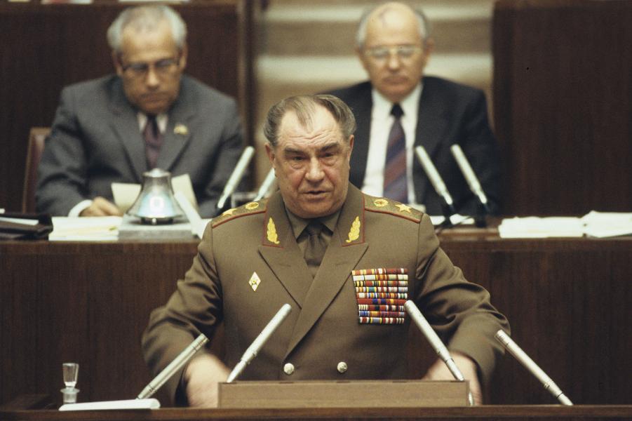 Дмитрий Язов, Маршал СССР, министр обороны.png