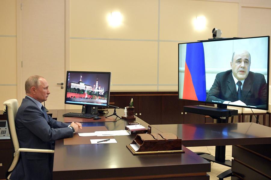 Беседа с председателем правительства Михаилом Мишустиным в режиме видеоконференции, 30.04.20.png