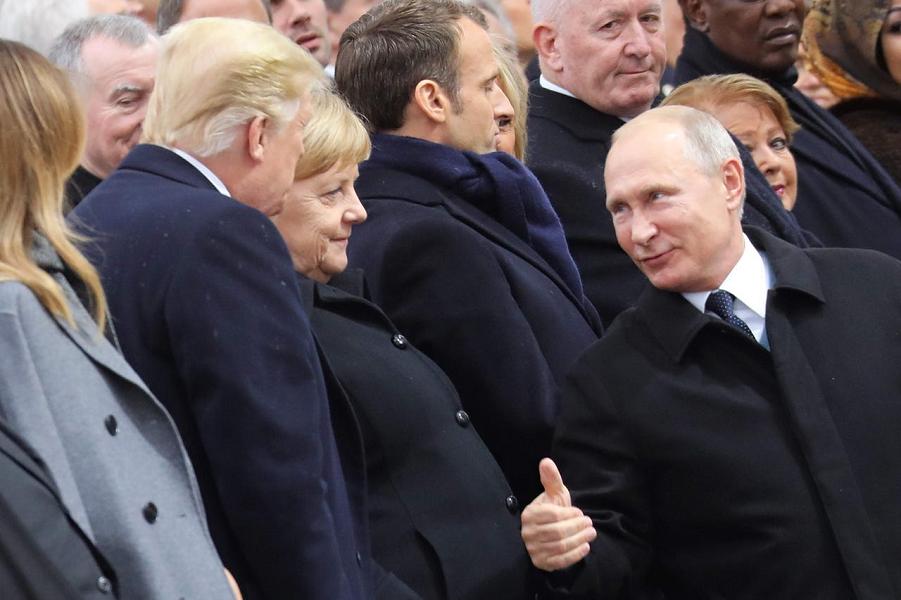 Париж, 11.11.2018, торжества у Триумфальной Арки по поводу окончания Первой мировой войны.png