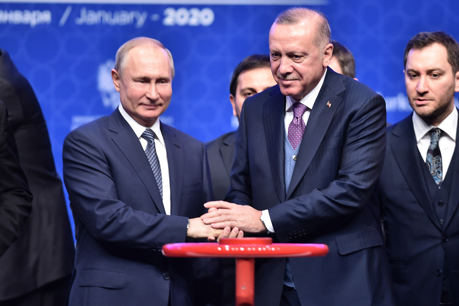 Президенты Путин и Эрдоган на пуске Турецкого потока, 7 января 2020.png