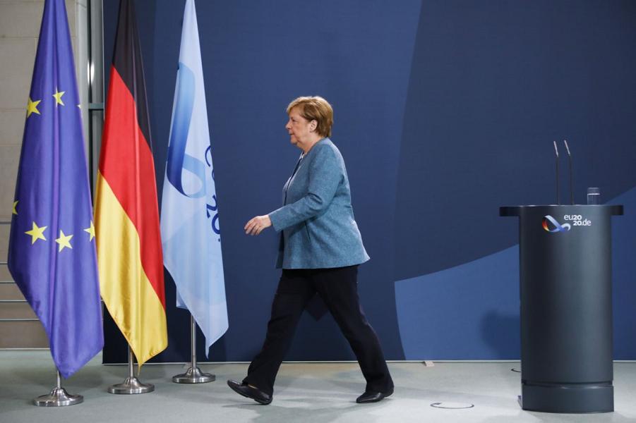 Канцлер ФРГ Ангела Меркель.png