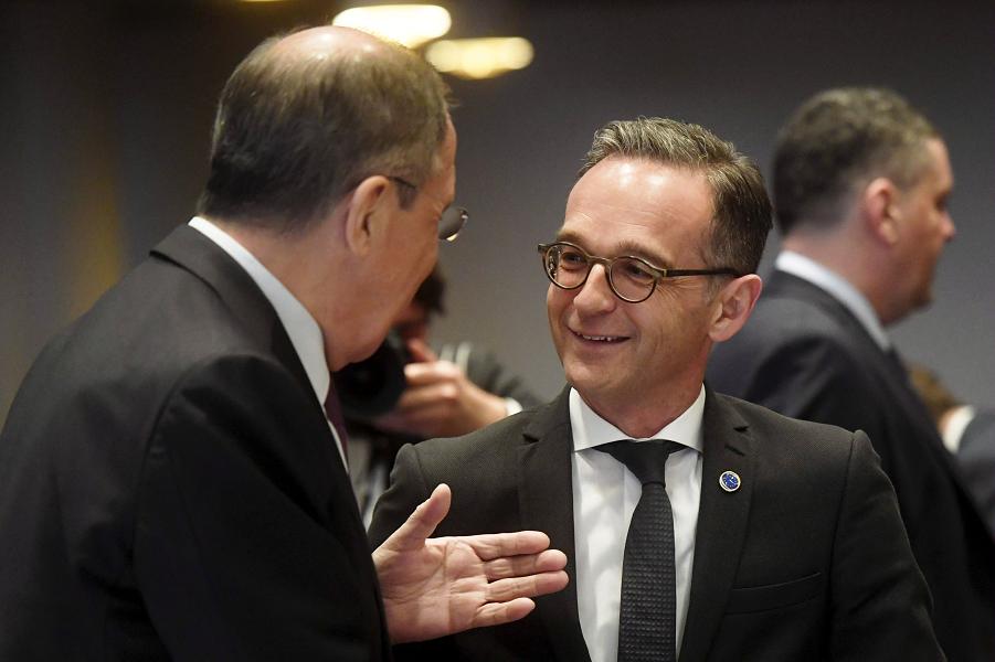 Лавров и Маас, министры иностранных дел РФ и ФРГ.png