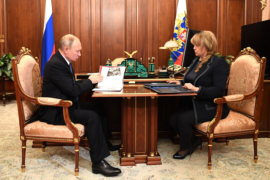 Встреча Путина с председателем Центризбиркома Эллой Памфиловой. 6.11.20, Кремль.png