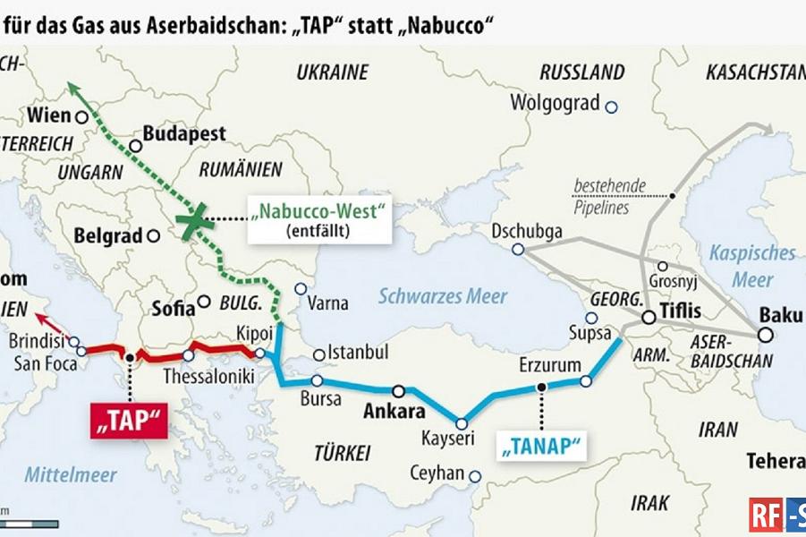 Шах Газпрому. Азербайджанский газ подвинет российский в Италии и Южной Европе TAP.png