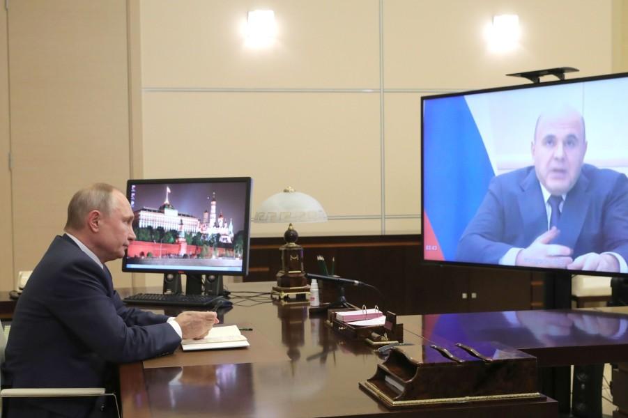 Рабочая встреча Путина с Мишустиным, 30.12.20.jpg
