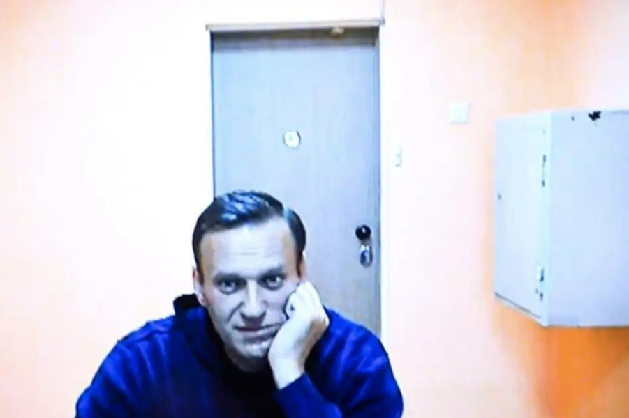Навальный на суде из СИЗО, 28.01.21.jpg
