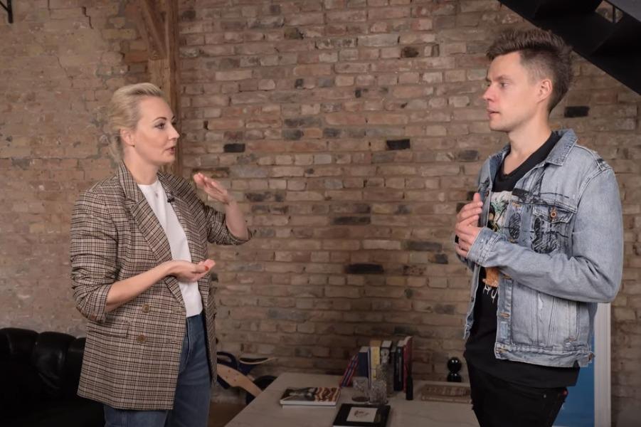 Юлия Навальная и Юрий Дудь.jpg