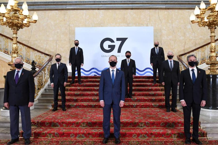Министры иностранных дел G7 на саммите в Великобритании.jpg