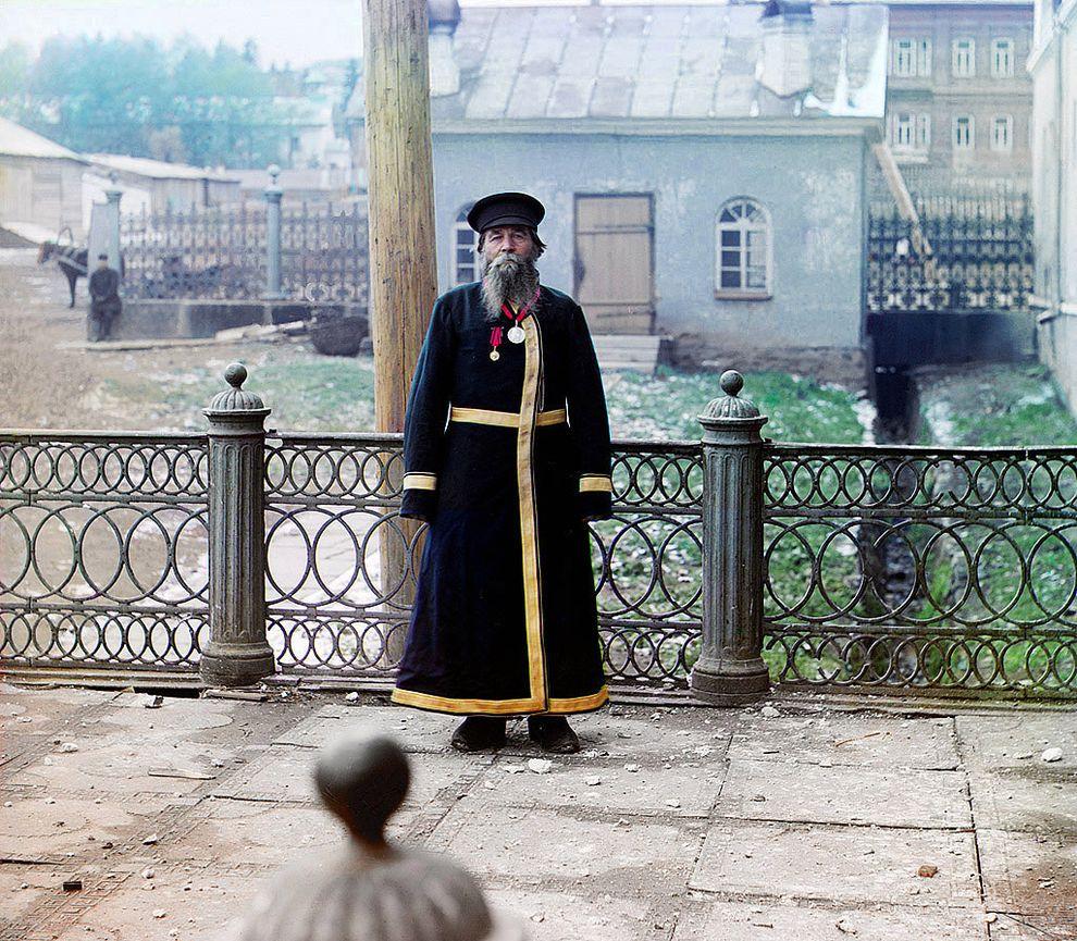 Городской служащий, 1907 год