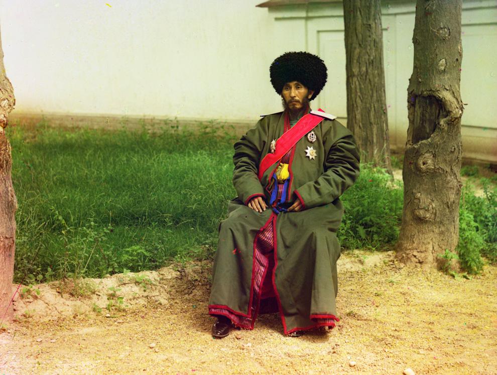 Исфандияр Юрджи Бахадур, хан региона Хорезм (Хива, теперь часть современного Узбекистана), ок. 1910 год.