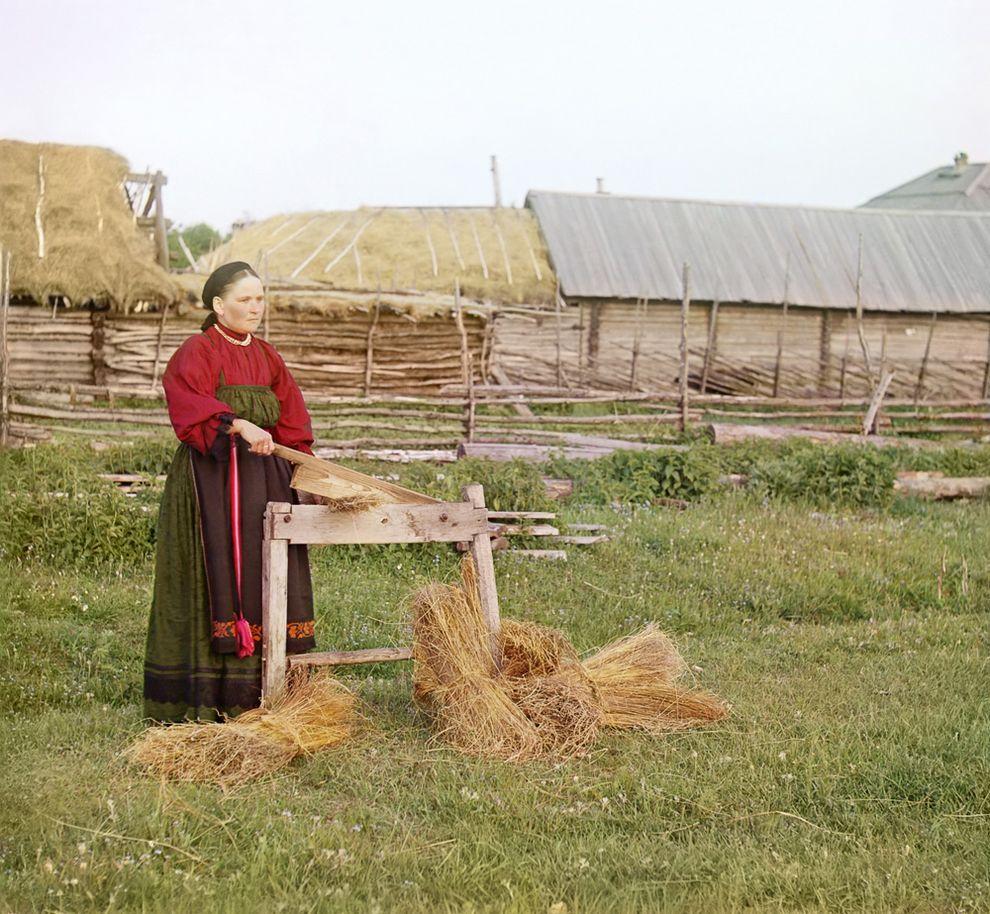 Крестьянка, Пермская губерния