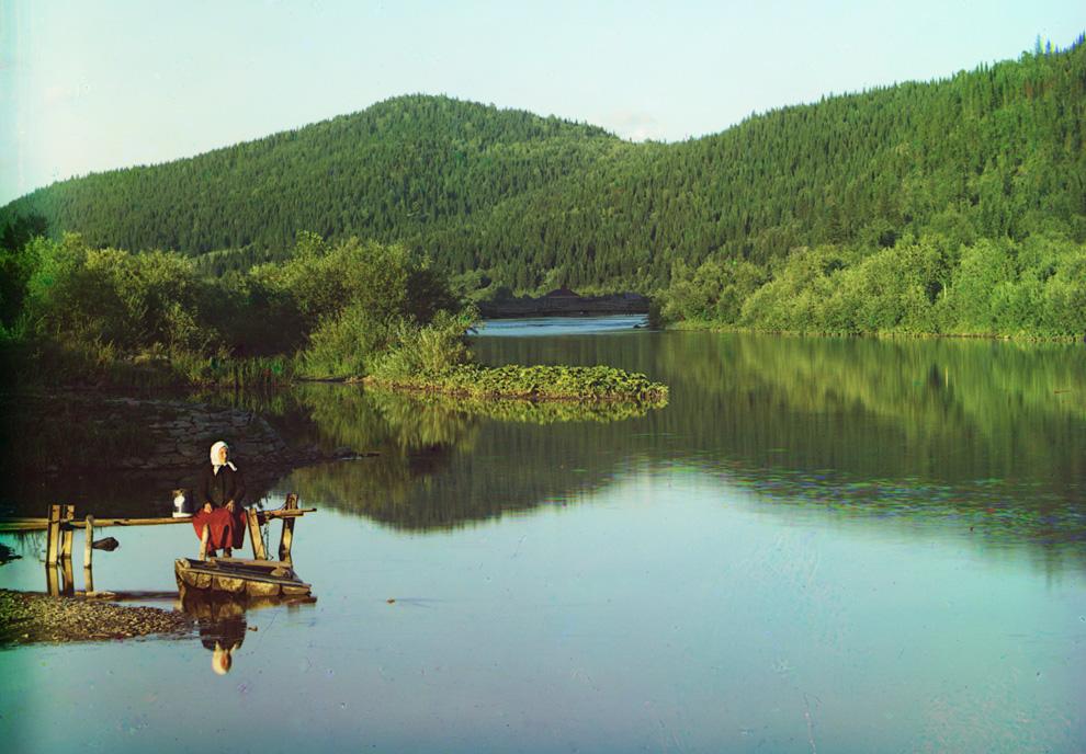 река Сим в бассейне Волги