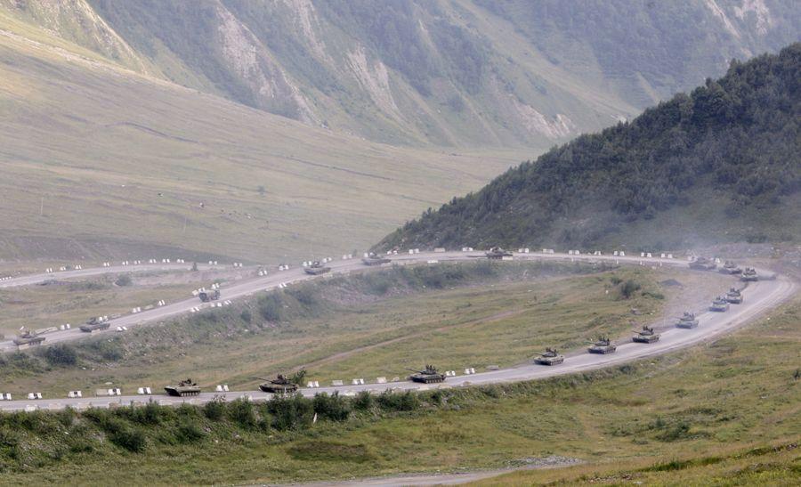 22 августа 2008, окрестности Цхинвала-3