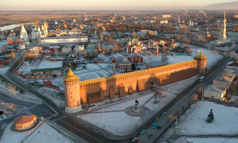 Коломна, Кремль