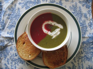 duotone soup