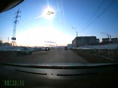 Падение метеорита видео вспышки над челябинском прям как в кино фотожаба