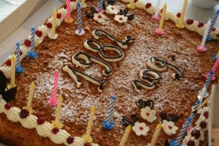 По следам моего дня рождения... Любопытствующим - фрагменты торжества...