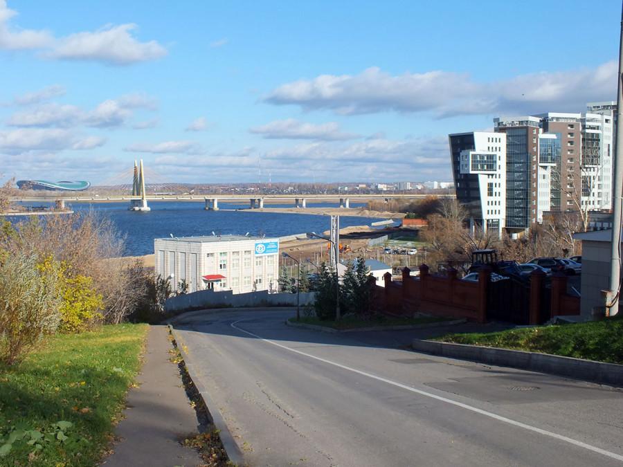 Вид на мост с Подл