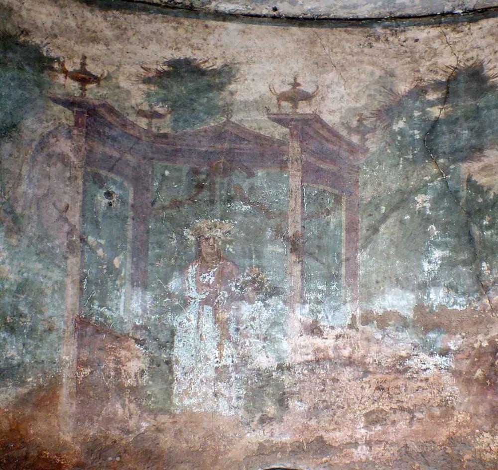 Вогнутая фреска