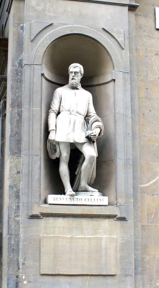 Статуя Челлини