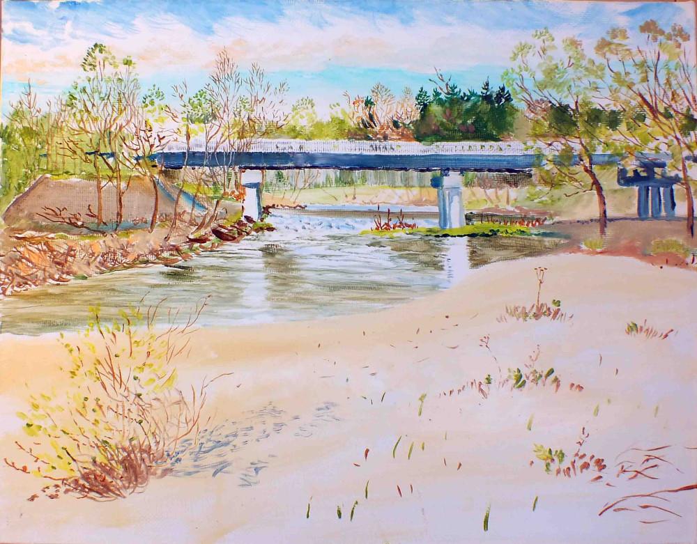 Мост через Илеть ум