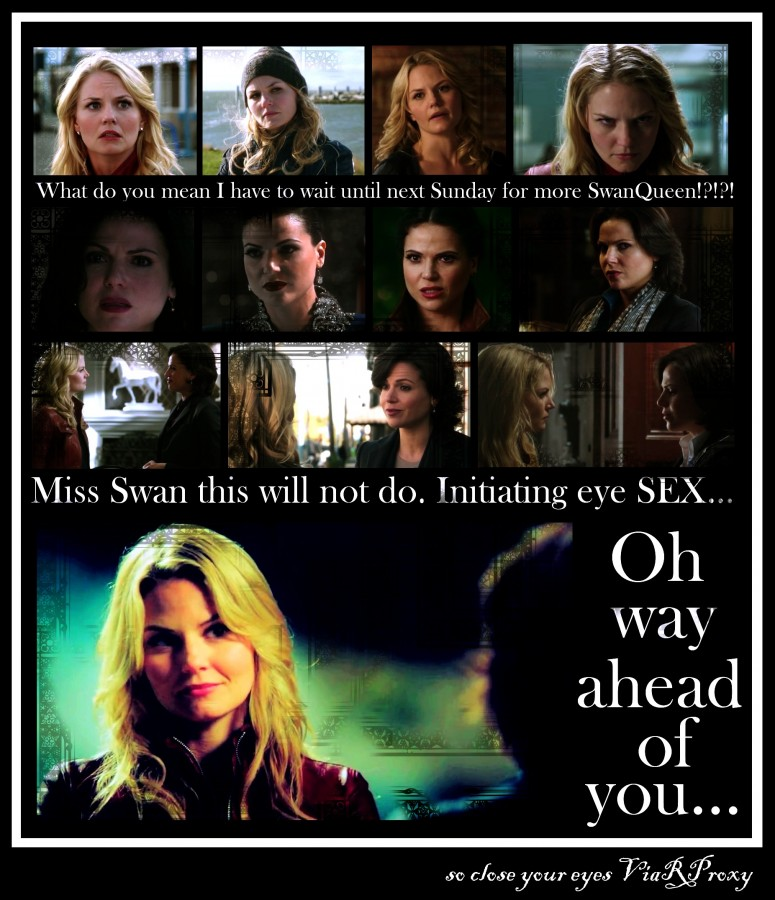 what No SwanQueen.