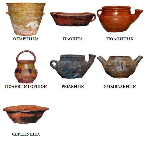 Древнерусская посуда