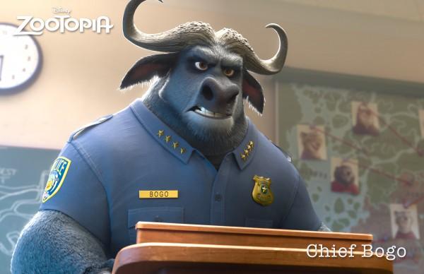 Начальник полиции Буйвол