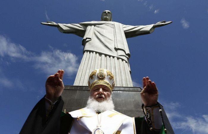 Патриарх Кирилл в Рио-де-Жанейро