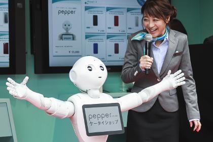 В Японии в школу приняли робота