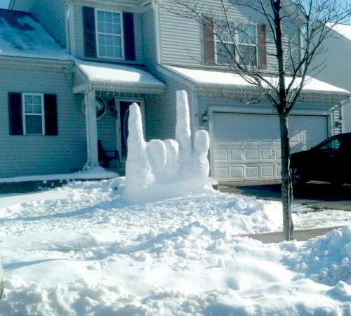 Креативные снеговики