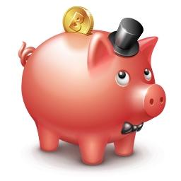 картинка копилка свинья