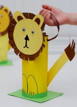поделки из гофрированной бумаги с детьми 4-5 лет