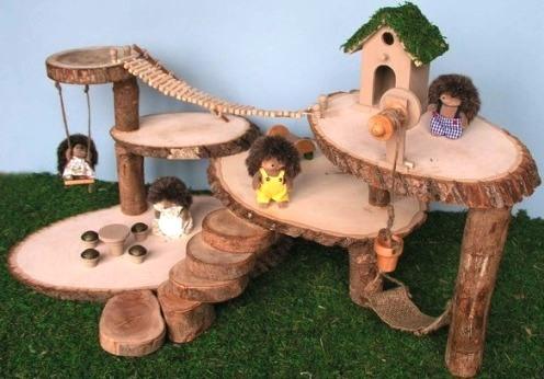 Поделки детские из дерева своими руками