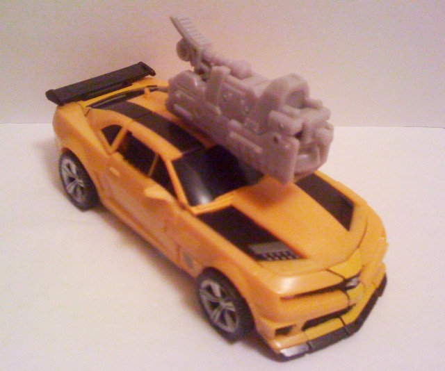transformers dark of the moon bumblebee mechtech. Bumblebee comes with a