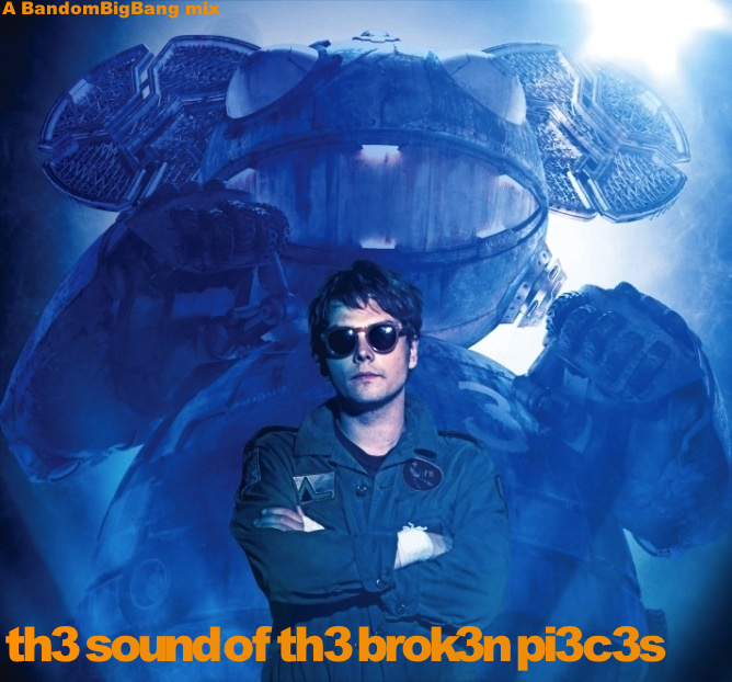 th3 sound of th3 brok3n pi3c3s- front