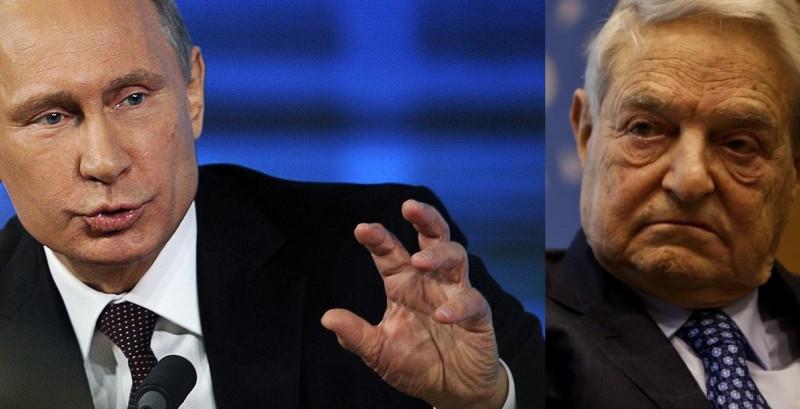 Путин и Сорос
