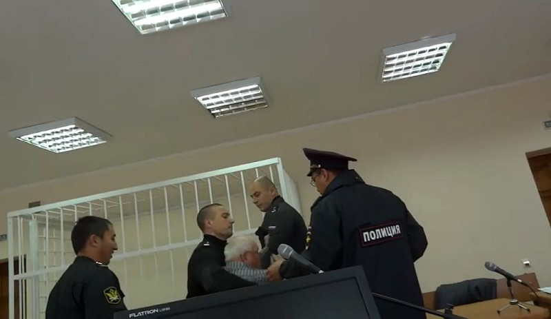 Стоп-кадр из видео Валентина Кузнецова