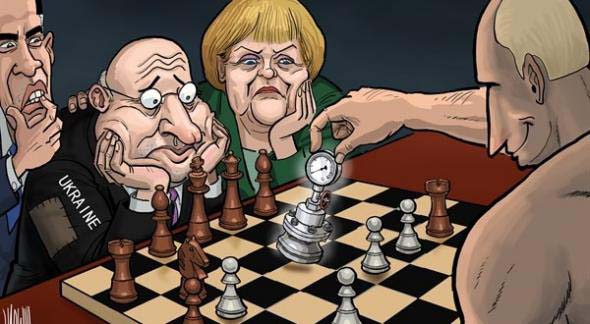 Англосаксы готовят новый гамбит для Путина.